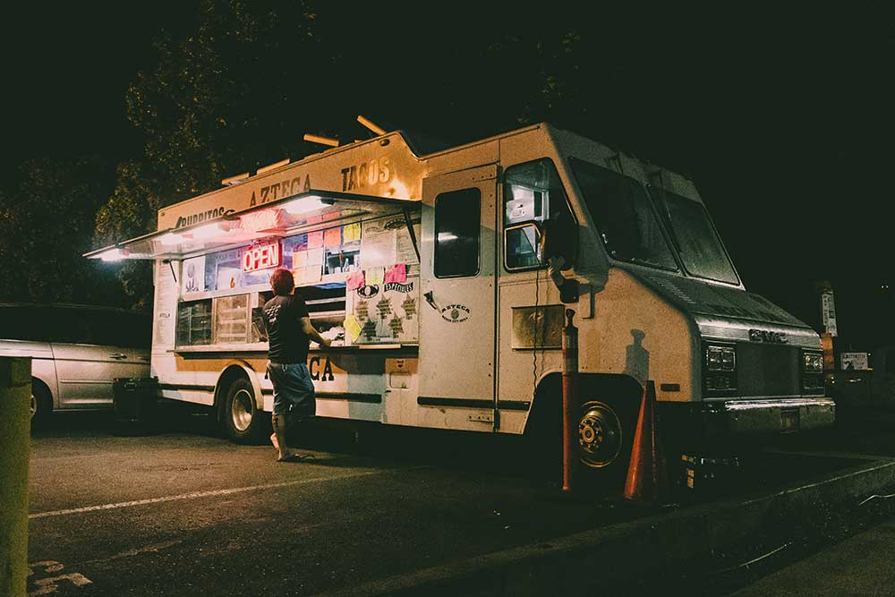 food truck in Sun Valley, CA