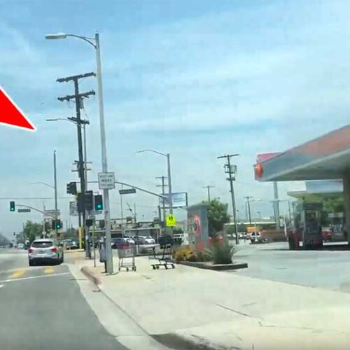 Jose Mier screenshot of 76 station in Sun Valley CA