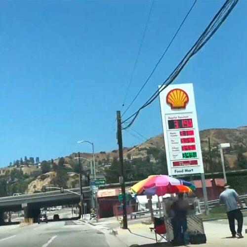 Jose Mier turns onto I-5 Sun Valley CA