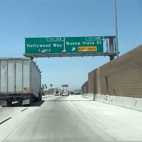 Jose Mier drive to Sun Valley recording traffic levels