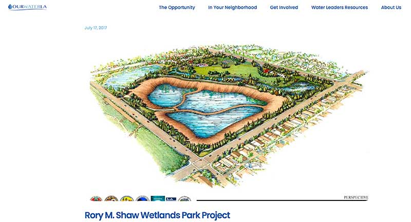 Rory M. Shaw Wetlands - Screenshot by Jose Mier