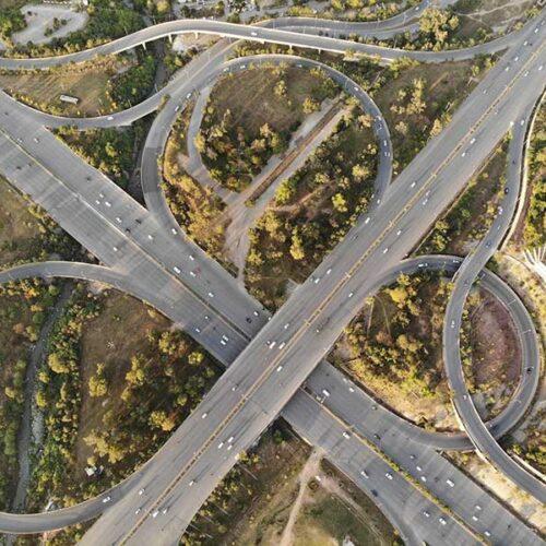 Jose Mier's Los Angeles freeway interchange image