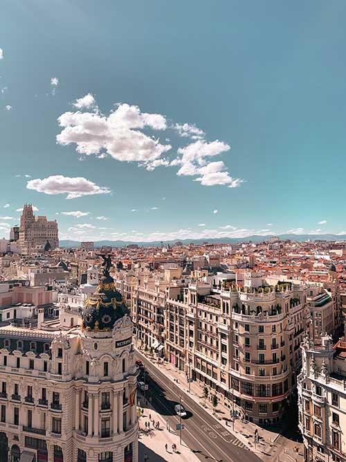 Madrid from Sun Valley, CA