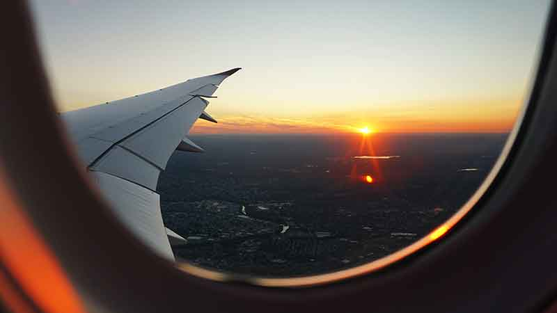 airline window image Jose Mier